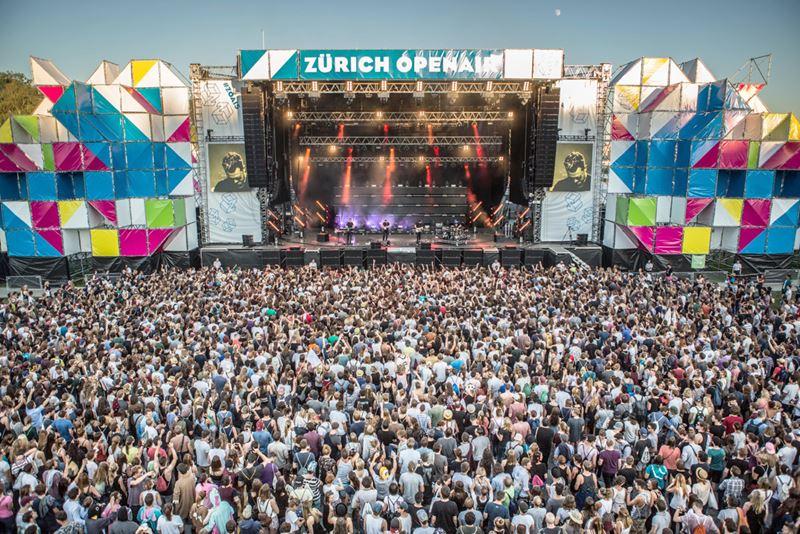 Фестивали в Цюрихе (Швейцария) весна-лето 2020 - Zurich Openair