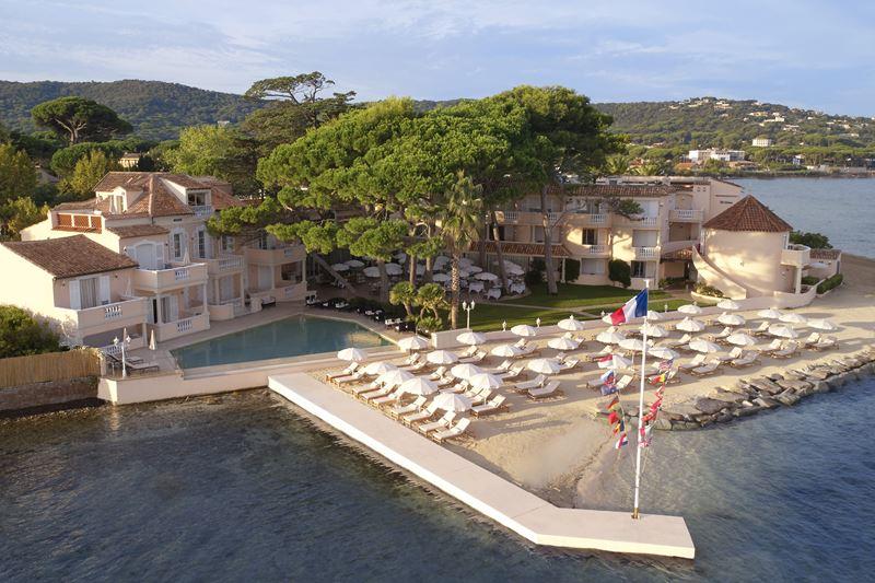 Дизайн отеля Cheval Blanc St-Tropez (Франция, Сен-Тропе)