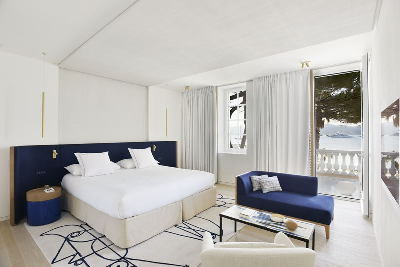 Дизайн отеля Cheval Blanc St-Tropez (Франция, Сен-Тропе) - фото 2