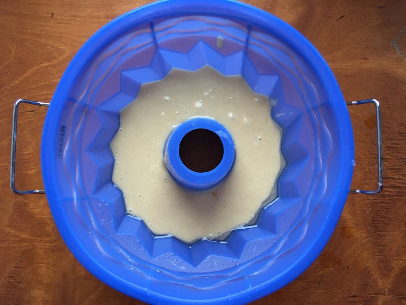 Апельсиновый кекс из готовой смеси «Печём дома» - отзыв и пошаговое фото 5