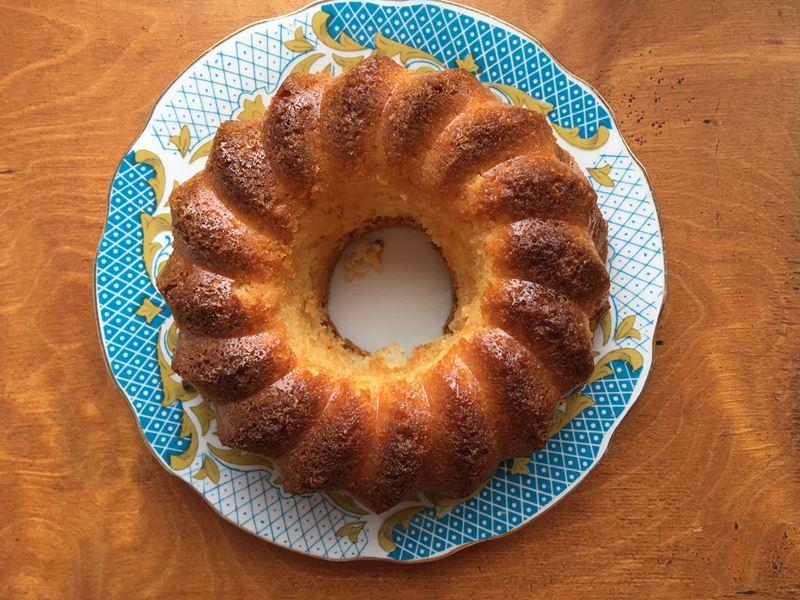 Апельсиновый кекс из готовой смеси «Печём дома» - отзыв и пошаговое фото 6