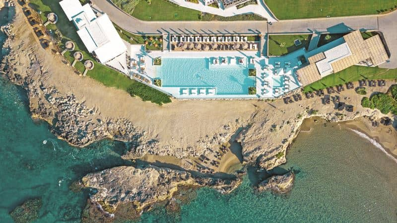 Что посмотреть на Крите:  курорт Abaton Island Resort & Spa