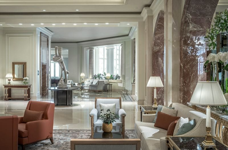 Four Seasons Hotel Doha - дизайн интерьера - фото 6