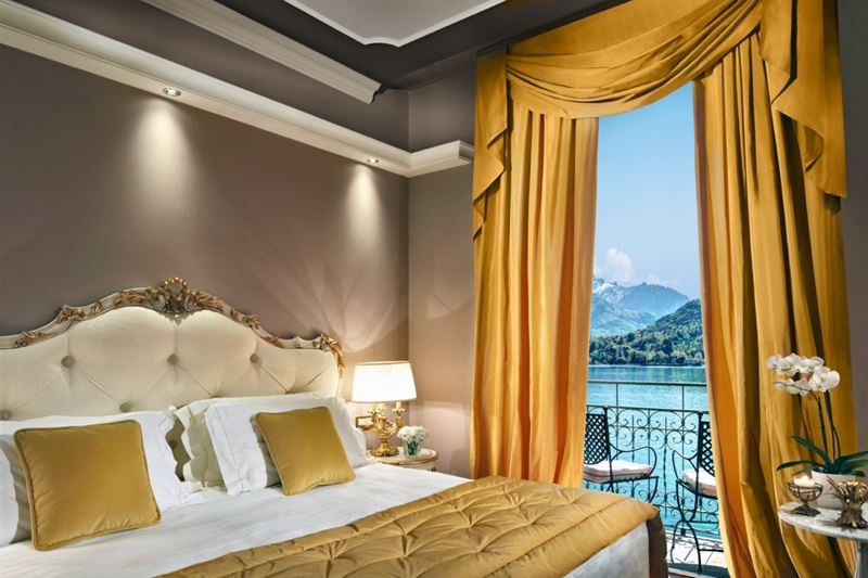 Знаковые сьюты отелей - Grand Hotel Tremezzo (озеро Комо, Италия) Suite Maria