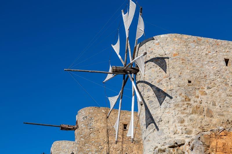 Что посмотреть на Крите - мельница
