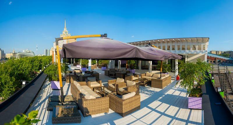 MyMoscow Terrace: новая банкетная веранда с панорамным видом в Москве