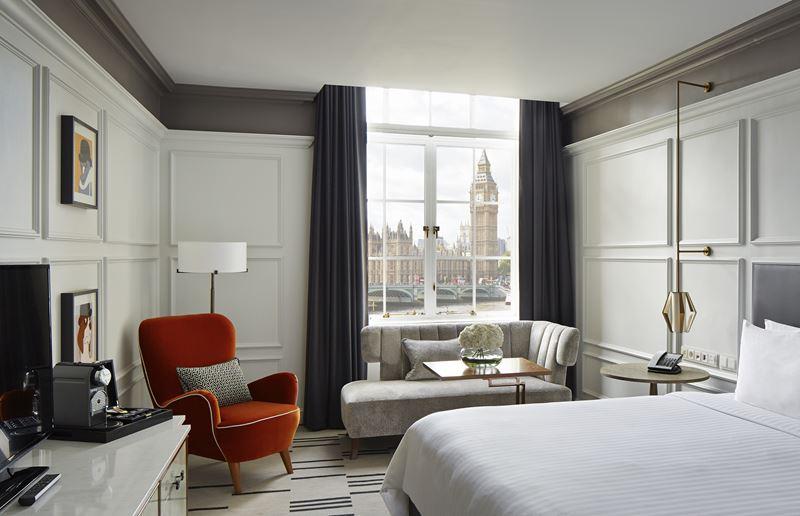 Каникулы на берегу Темзы в отеле London Marriott Hotel County Hall