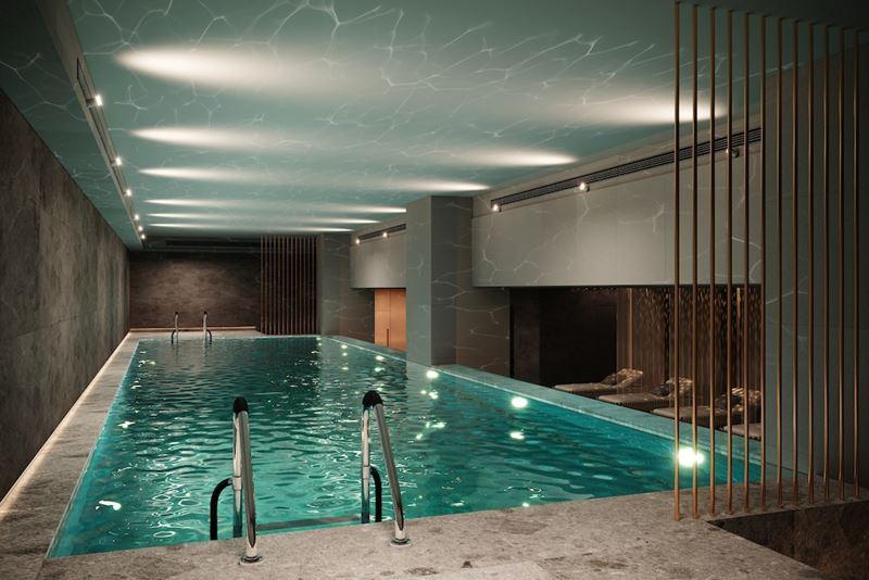 Отель Mövenpick Москва Таганская бассейн