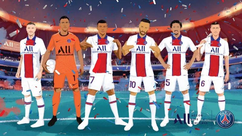 Программа лояльности ALL – Accor Live Limitless и клуб Paris Saint-Germain выпустили совместный мультфильм