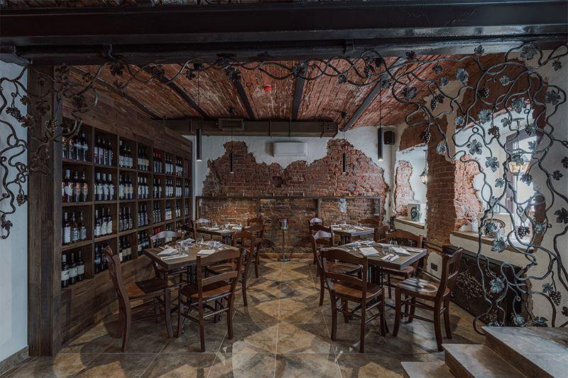 Ресторан-винотека DODICI WINE & KITCHEN – Италия в центре Москвы - фото 1